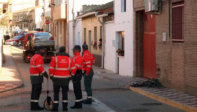 Fallece al estrellarse contra una casa en Cadreita