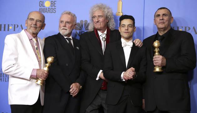 'Green Book', 'Bohemian Rhapsody' y 'Roma' se reparten la gloria en los Globos de Oro