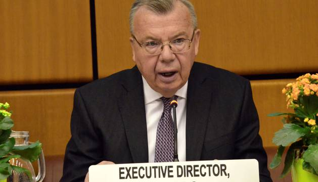 En la presentación del informe de la ONU