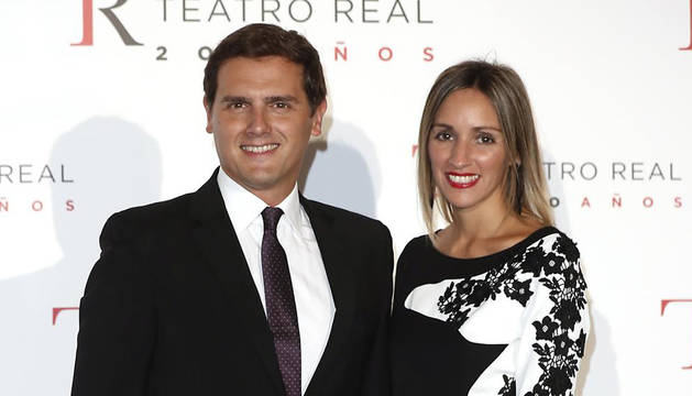 Albert Rivera y Beatriz Tajuelo.