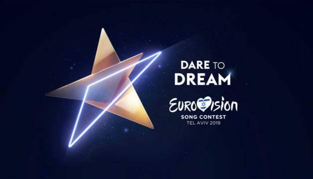 Imagen del logo de Eurovisión 2019.