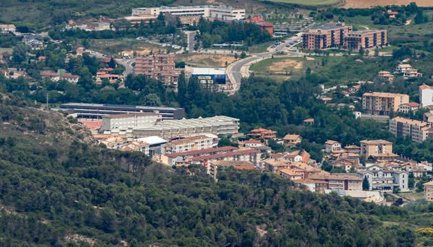 Vista del colegio público Remontival en cuyo entorno se encuentra también la escuela Arieta de 0-3.