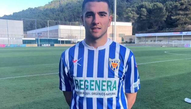 Javi Alonso, del Izarra.