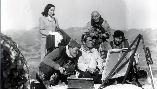 Fotograma de una película de Akira Kurosawa.