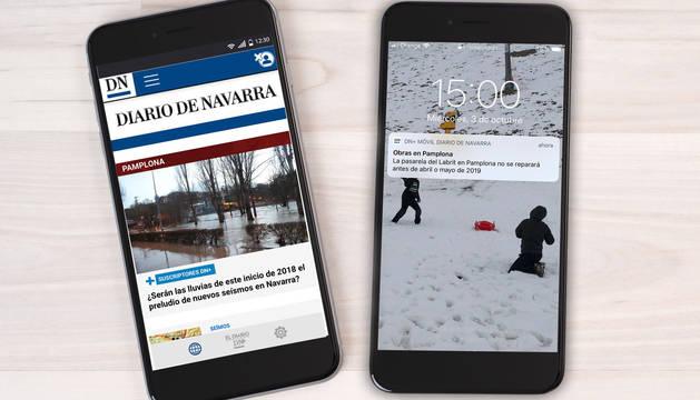 Una nueva aplicación móvil con adelanto exclusivo para suscriptores