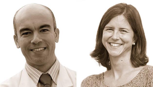 Gabriel Reina y Silvia Carlos.