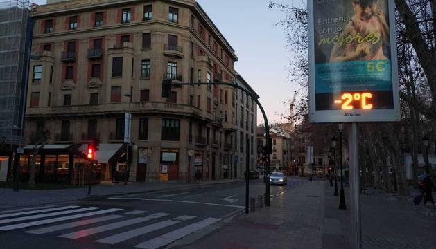 Ola de frío polar en Navarra