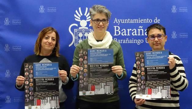 Barañáin presenta 'Nuestra memoria', un documental que recorre su historia