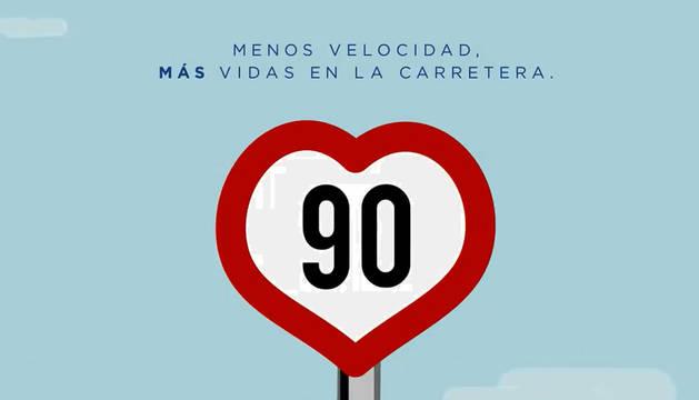 El límite de las carreteras convencionales bajará a 90 km/h desde el 29 de enero
