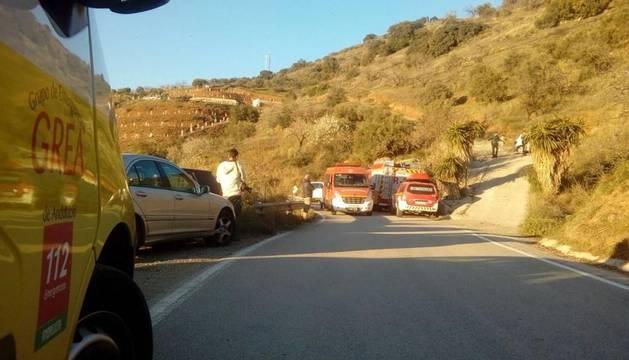 Tratan de rescatar a un niño de dos años caído en un pozo de 150 metros  en Málaga