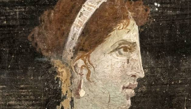 Posible retrato póstumo de Cleopatra.