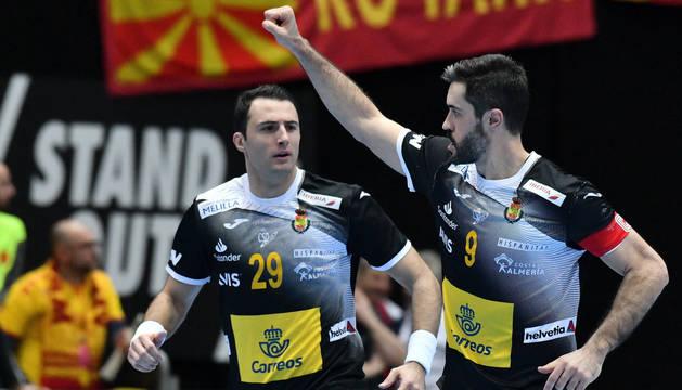 España arrolla a Macedonia con un espectacular arranque en el segundo tiempo