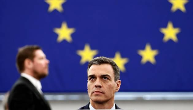 Sánchez, en el Parlamento Europeo