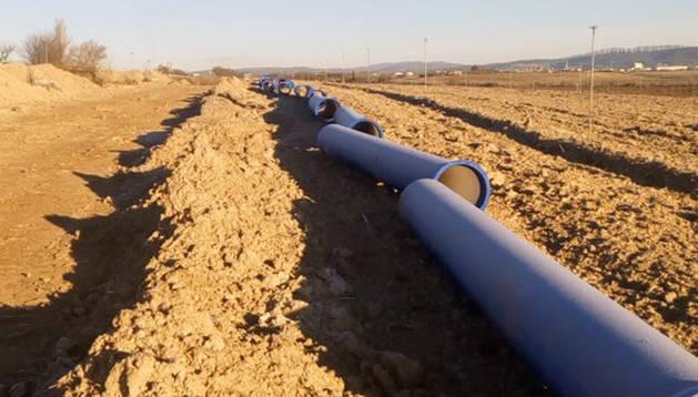 En marcha las obras para llevar agua del Canal desde la Pedrera hasta Peralta