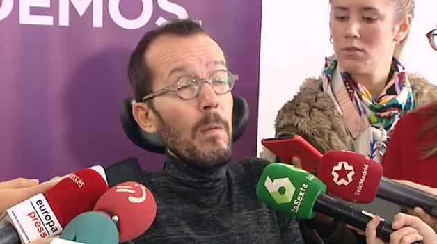 "Echenique: ""Errejón es candidato de otra fuerza política"""