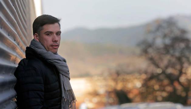 Mikel Aguirrezabalaga espera estar ya disponible para competir con el Helvetia el 2 de febrero.
