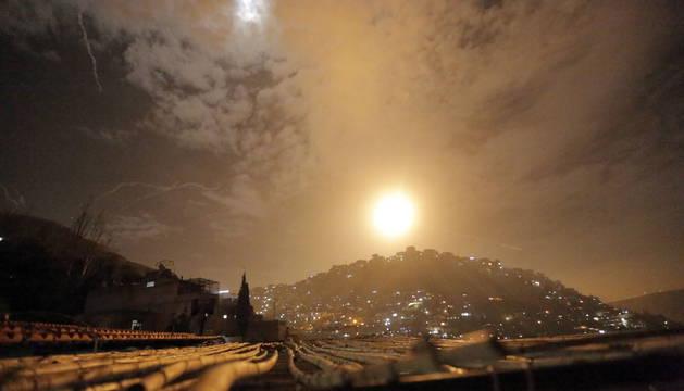 Bombardeos en Damasco