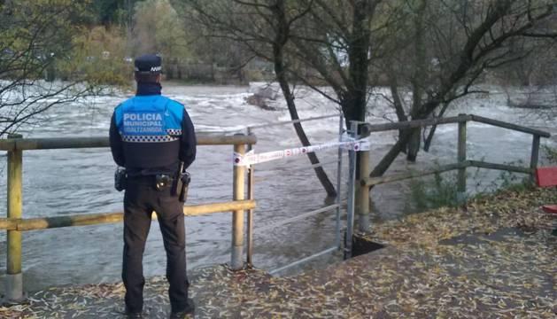 Activada la fase de alerta en Pamplona, Burlada y Villava por el caudal de los ríos