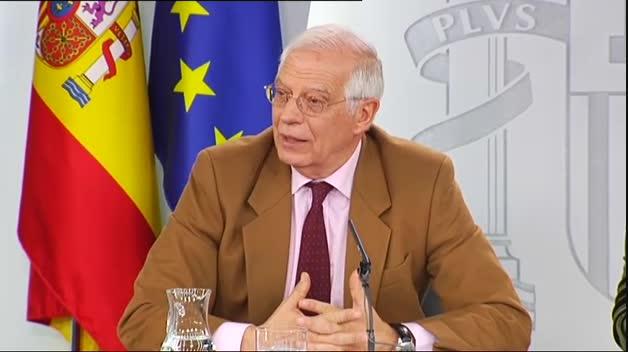 """Borrell pide a Maduro como """"presidente de facto"""" que convoque elecciones """"justas y libres"""""""