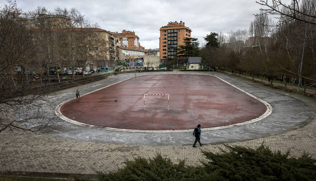 "Imagen del patinódromo de San Jorge, cuya pérdida consideran ""importante e insustituible""."