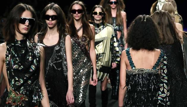 Desfile de Custo Barcelona en la Mercedes-Benz Fashion Week de Madrid