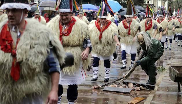 Imágenes del carnaval de Ituren y Zubieta 2019