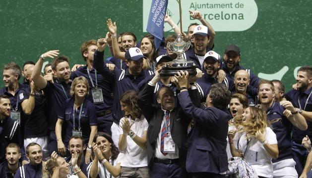 La selección francesa de pelota vasca se proclamó en 2018 campeona del Mundo. En 2024 podría ser la anfitriona en unos Juegos Olímpicos.