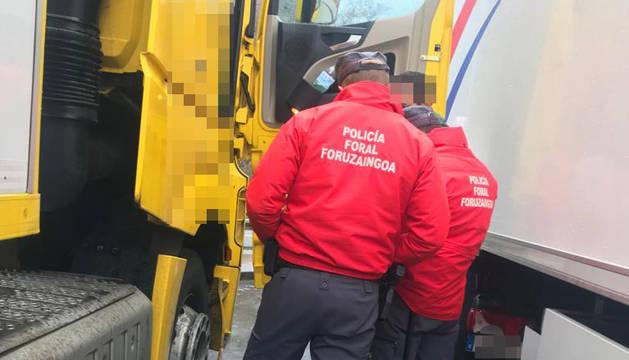 Investigado un camionero en Santesteban tras dar positivo en cocaína