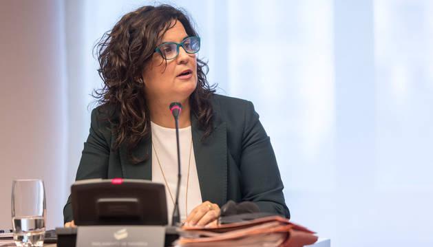 foto de La portavoz de UPN en la Comisión de Derechos Sociales del Parlamento de Navarra, Maribel García Malo