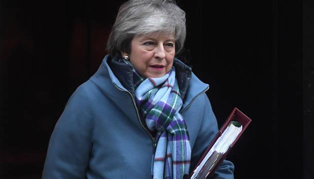 foto de La primera ministra británica, Theresa May