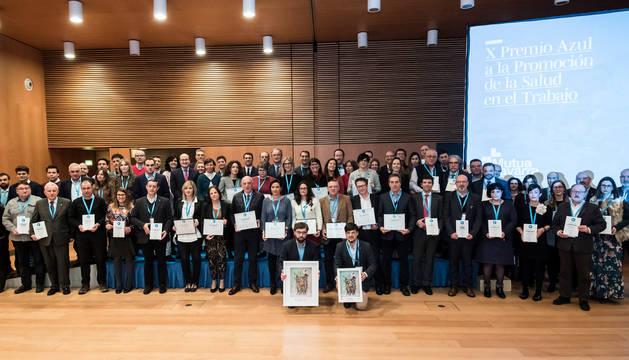 Tiruña, ganador del Premio Azul 2018 a la promoción de la salud en el trabajo