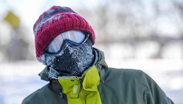 Galería de imágenes de la ciudad de Chicago, en la que se han alcanzado temperaturas de -25 grados durante el día.