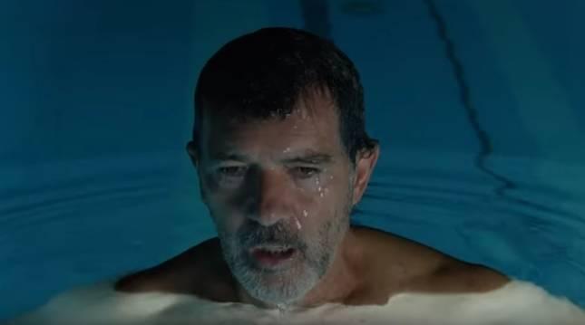 Fotograma del tráiler de la película de Almodóvar 'Dolor y gloria'.