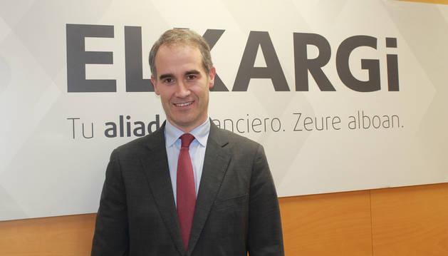 foto de Zenón Vázquez Irizar, futuro director general de Elkargi