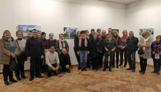 Inauguración de la exposición 'Intercambiartez'.