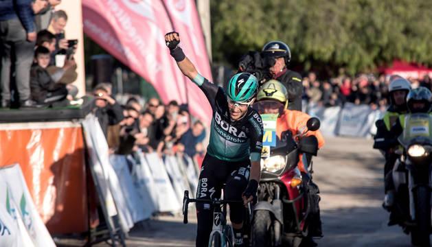 Buchmann gana en solitario la segunda prueba de la Challenge Mallorca