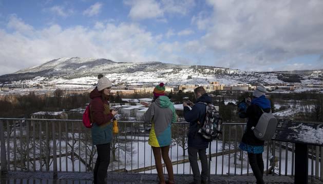 Nieve en Navarra   3 de febrero
