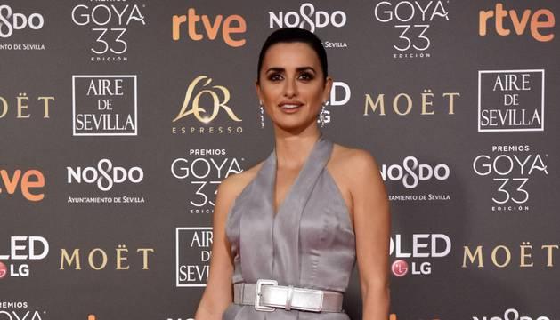 Alfombra roja de los Premios Goya