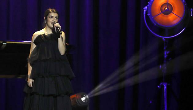 foto de Amaia Romero, durante su actuación en la entrega de los Premios Goya 2019