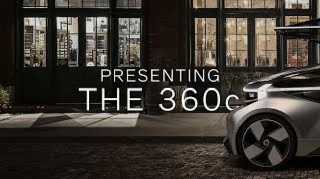 Volvo 360c Concept: