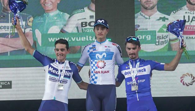El colombiano Winner Anacona (Movistar) se adjudica la Vuelta a San Juan