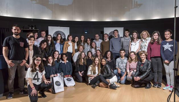 Foto de los grupos premiados el año pasado.