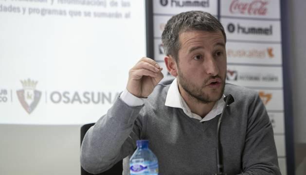 Ángel Alcalde, director de Tajonar.