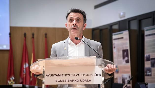 Alfonso Etxeberria, alcalde de Egüés.