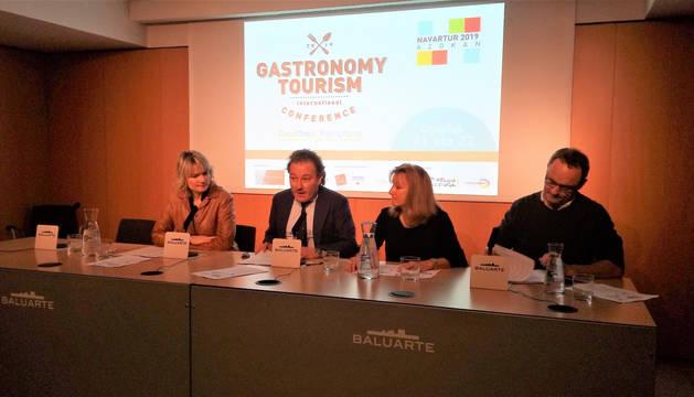 Presentación del 2º Congreso Internacional de Turismo Gastronómico.