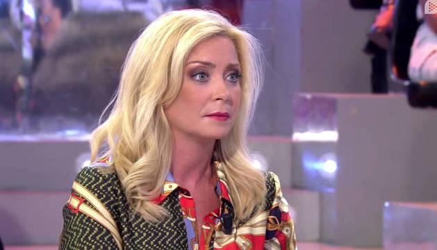 Paloma Zorrilla, en una intervención televisiva