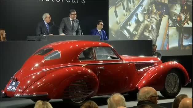 Un Alfa Romeo de 16 millones de euros