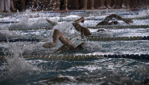 Anaitasuna quedó campeón del Campeonato Navarro absoluto de natación.