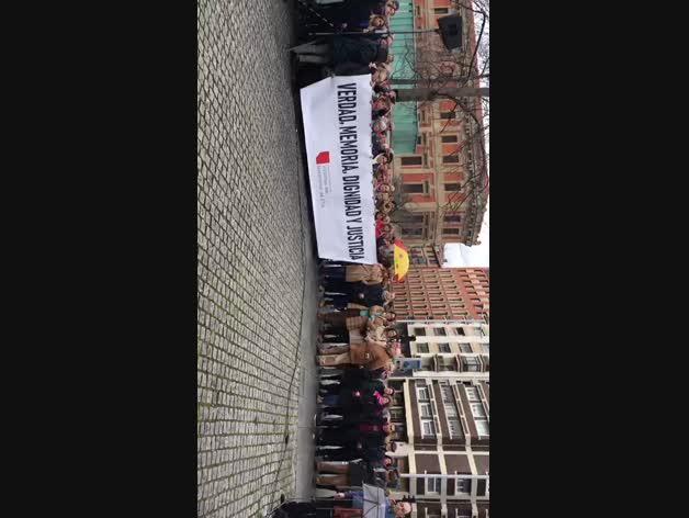 Acto por las víctimas de ETA en Pamplona