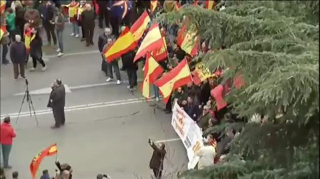 Manifestación por la unidad de España en Madrid